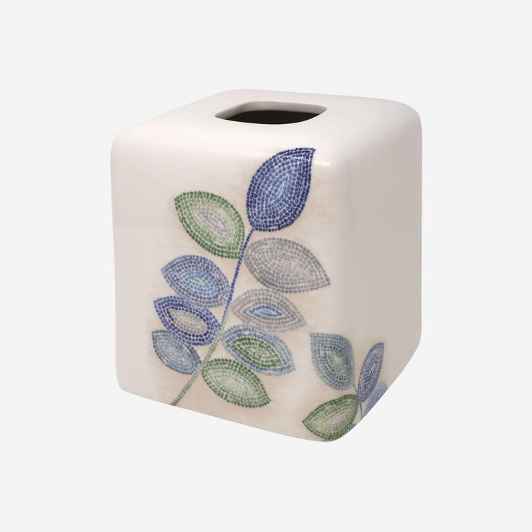 Mosaic Leaves Spa Tissue Cover