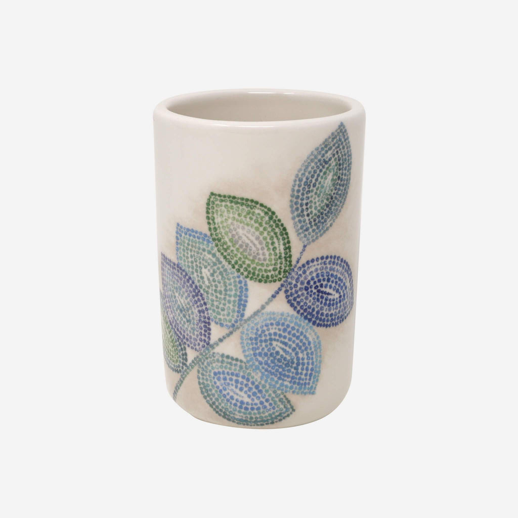 Mosaic Leaves Spa Tumbler