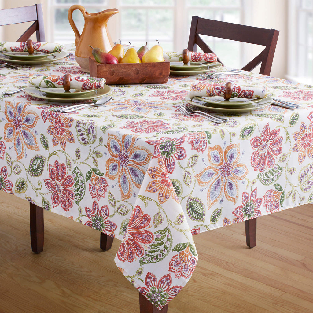 Tessa Oblong Tablecloth