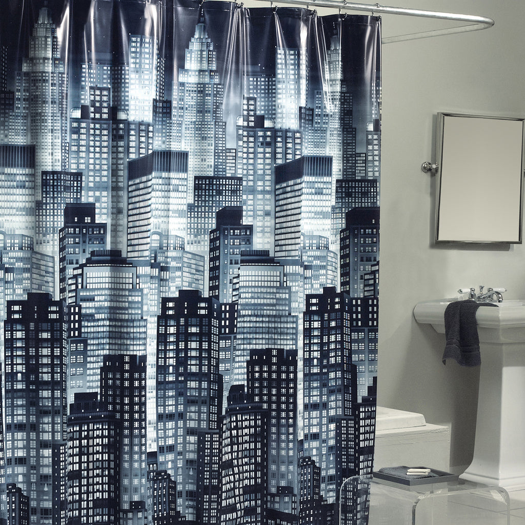 Cityscape_Shower_Curtain