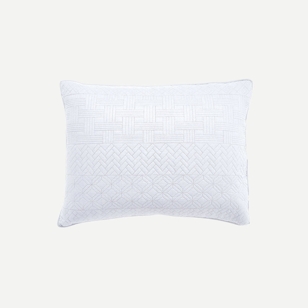 Crestwood White Pillow Sham
