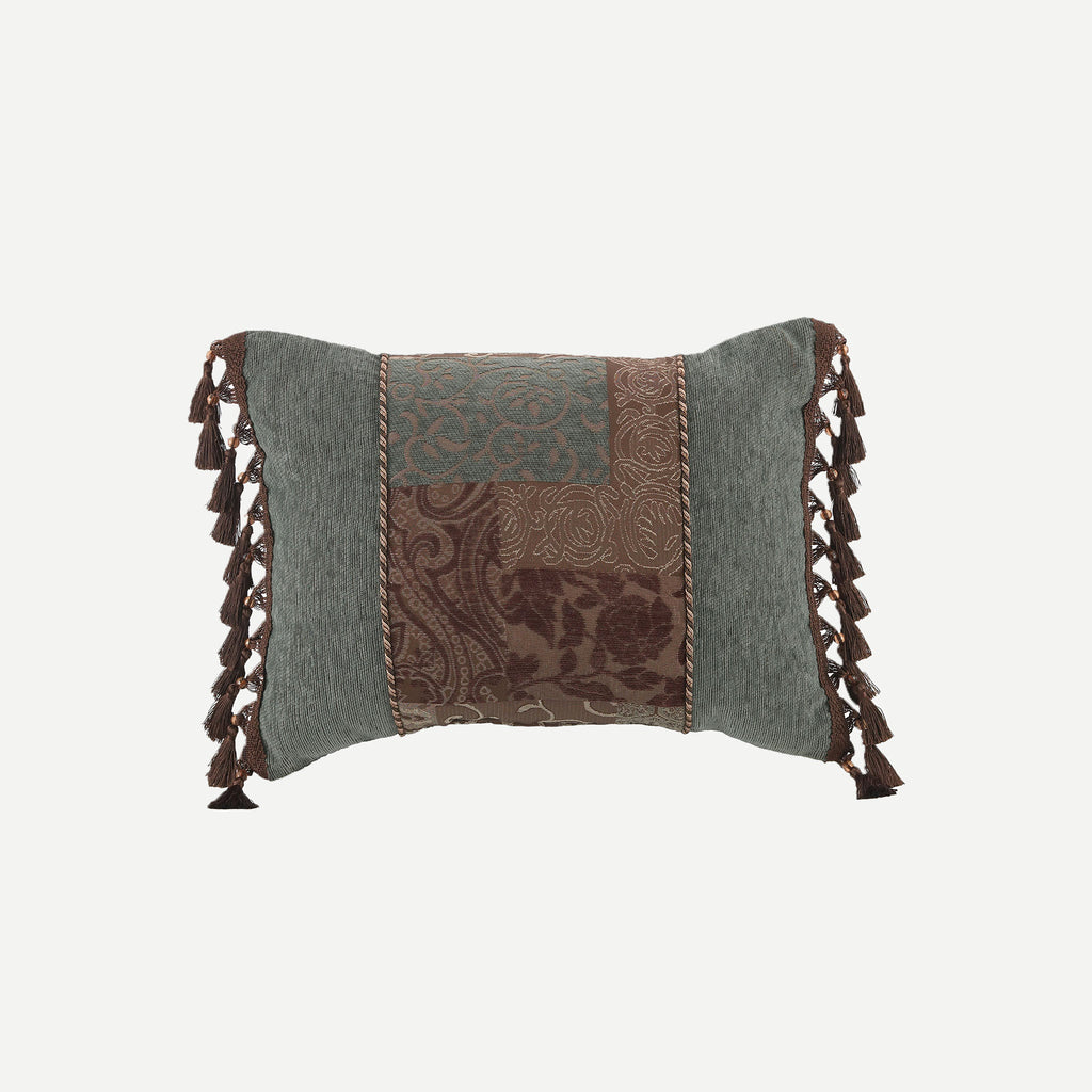 Galleria Brown Boudoir Pillow