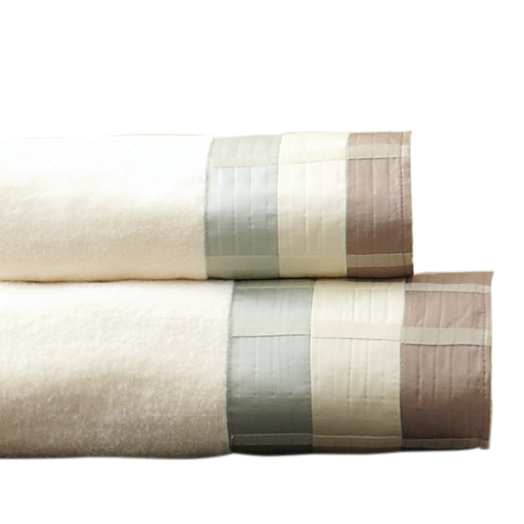 Fairfax Taupe Fingertip Towel