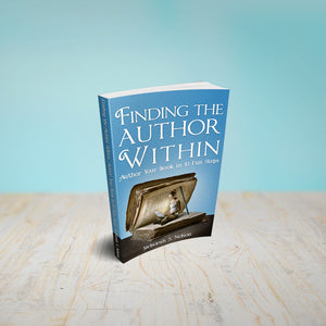 Find the Author Within encourages, supports, and inspires first time writers how to self-publish their book.