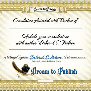 PUBLISH IN PARADISE RETREAT—Publishing Coach By the Day—Deborah S. Nelson