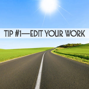 SPP 006—10 DIY Self-Editing Tips for a Smoothly Written Ride
