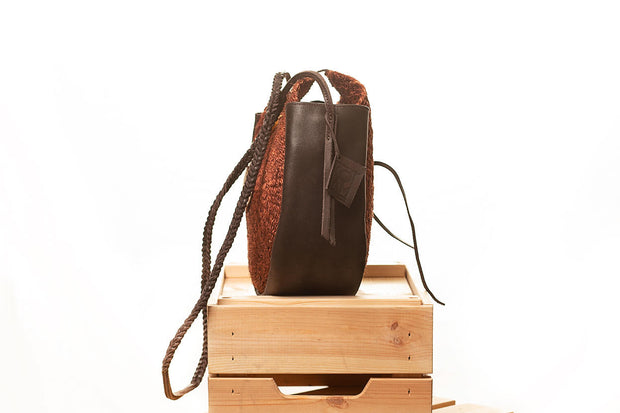 JUA Circle Brown Bag