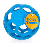 Geometric Fetch Ball with Treat Hiding