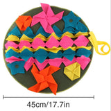 Pet Dog Sniffing Mat Find Food Training Blanket Play Toys Dog Cats Mat For Relieve Stress Puzzle Sniffing Mat Pad