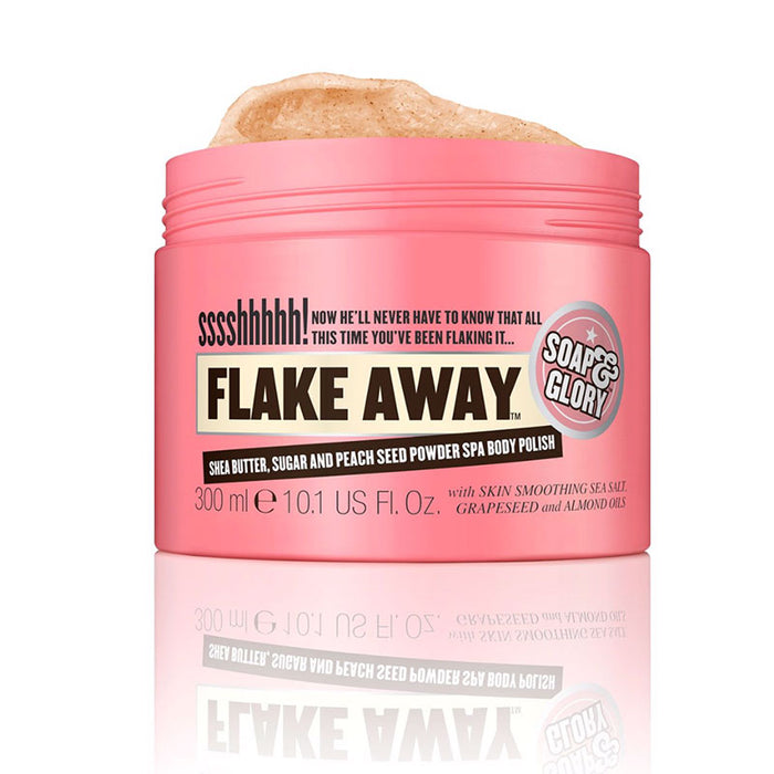 【现货包邮】Soap&Glory Flake Away光亮蜜糖身体磨砂膏去角质  300ml
