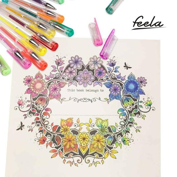 200 COLORS!! Wholesale Promotion Buy More Save More-Gel Pens for Adult Coloring Books