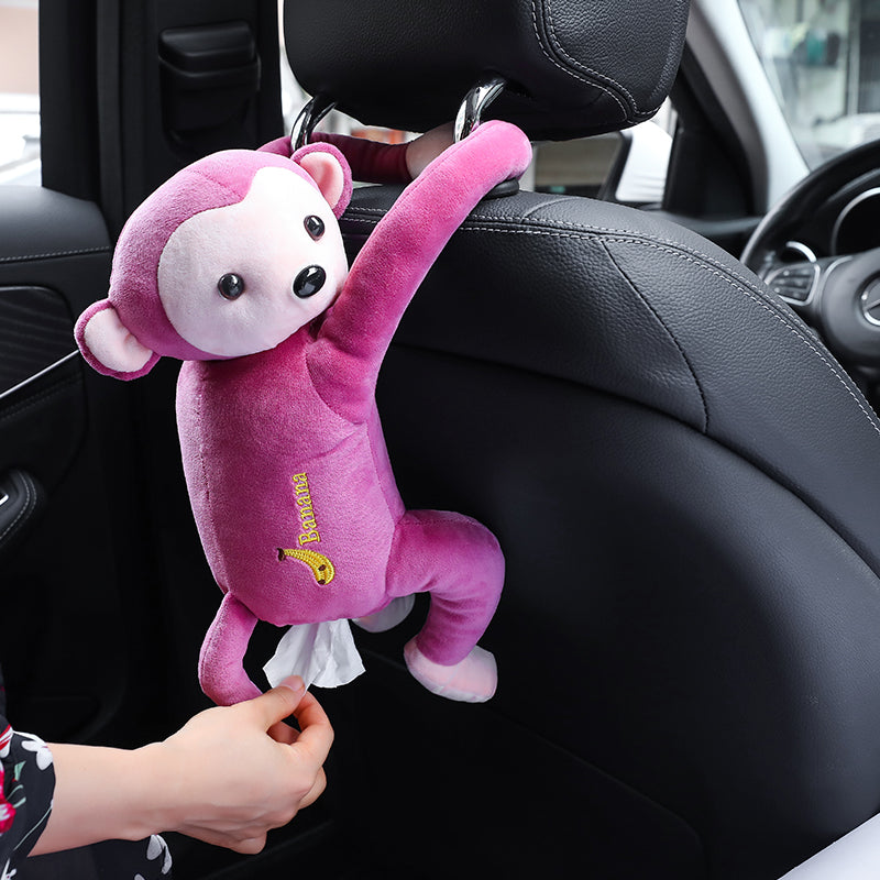 Lovely Monkey Tissue Holder For Home And Car