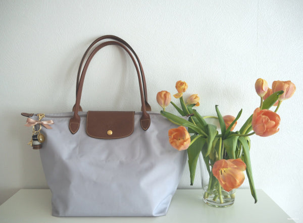 A New Life For A Longchamp Le Pliage - Collaboration With Keyword: Love
