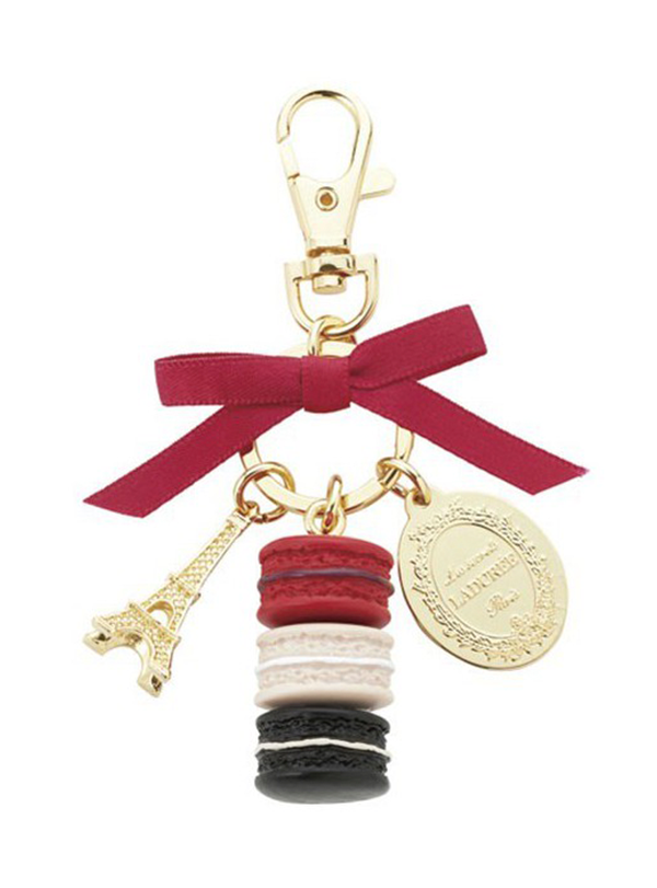 Keychain Macarons S Fruits Rouges