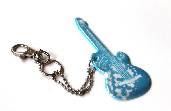 Jewellery Reflector, Blue Love Guitar