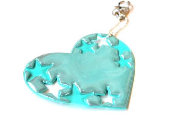 Jewellery Reflector, Mint Stars & Lovers