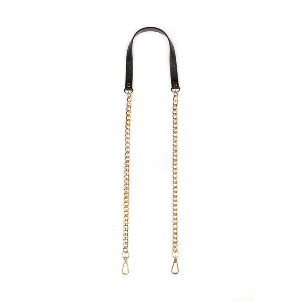 Handbag Chain Gold / Black