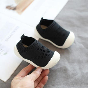 2019 Autumn Infant Toddler Shoes Baby Girls Boys Casual Shoes Soft Bottom Non-slip Comfortable Child Knitted First Walkers Shoes - ourkids-shop