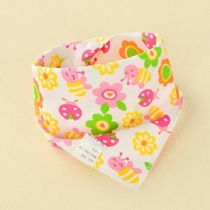 Baby Bibs Waterproof Triangle Cotton Cartoon Child Baberos Bandana Bibs Babador Dribble Bibs Newborn Slabber Absorbent Cloth