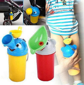 Portable Convenient Travel Cute Baby Urinal Kids Potty Girl Boy Car Toilet Vehicular Urinal Traveling urination - OurKids.Shop