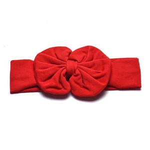 JECKSION Diademas 1PC Cute Kids Girls Bowknot Headband Hair Band Headwear for girl hair accessories Hair Band 9 Colors - ourkids-shop