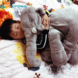 Elephant Pillow Plush Baby Toys Stuffed BOOKFONG 1PC 40/60cm