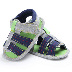 Baby Boys Shoes Sandals Summer Toddler Canvas Infant Kids Girl boys Soft Sole Crib Toddler Newborn Sandals Shoes for boys - OurKids.Shop