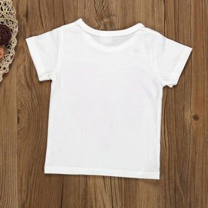 Mother and daughter t-shirt Family Match Clothes Mommy and Me Kids Clothes family matching shirts - ourkids-shop