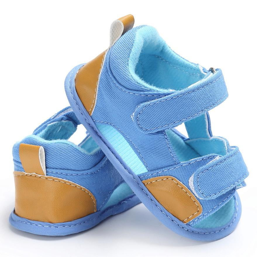 Baby Boys Toddler Canvas Infant Kids Girl boys Sole Crib Toddler Sandals Shoes sandals for boy - ourkids-shop
