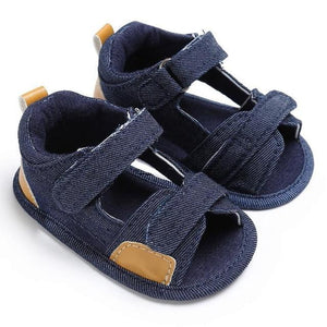 Baby Boys Toddler Canvas Infant Kids Girl boys Sole Crib Toddler Sandals Shoes sandals for boy - OurKids.Shop