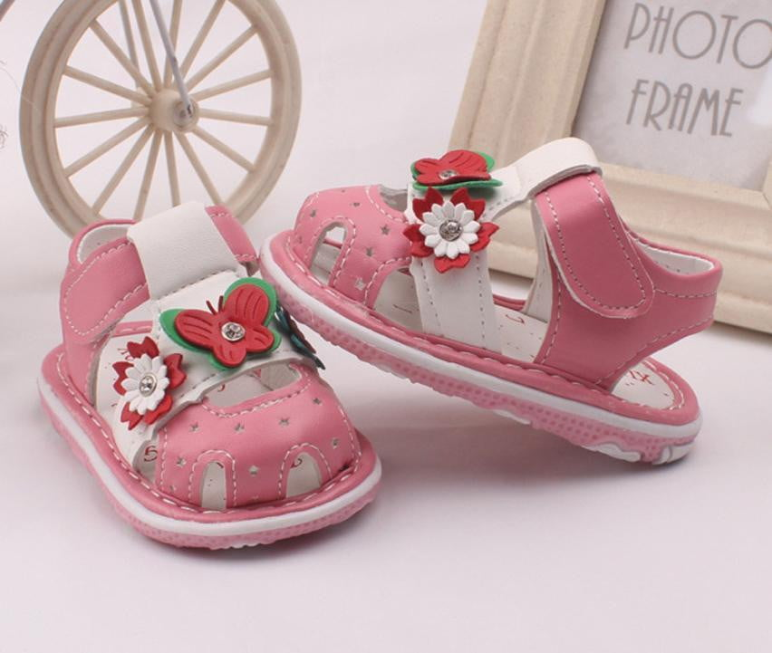 Kids girls sandals 2018 girls shoes flower Toddler Kids Baby girls Summer Shoes Sandals Cartoon Shoes Summer - ourkids-shop