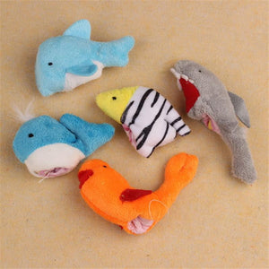 Yoner 10Pc Cute Soft Ocean Animal Puppet toys Baby Girls Boys Finger Puppet Plush Toy Finger toy Finger puppets - ourkids-shop