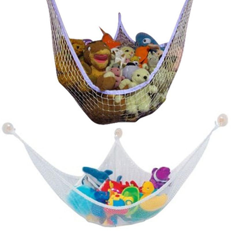 2018 New Hot sale Large Pet Storage Corner Stuffed Animals Toys Toy Net Hammock for home baby children Free Shipping Wholesale - ourkids-shop