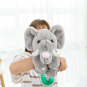 2018 New Product Magic Animal, Plush Toy & Stuffed Animals Teddy Bear/ Panda / Elephant With Magic On Arm, Best Gift For Kids - OurKids.Shop