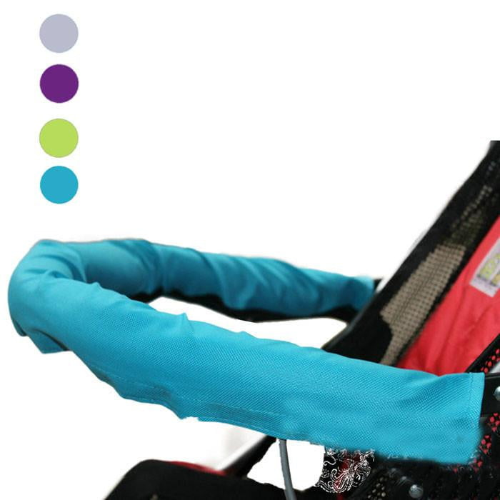 2018 Baby Stroller Accessories Baby Car Unpick And Wash Baby Stroller 600D Oxford Fabric Armrest Set large Children Cart - ourkids-shop