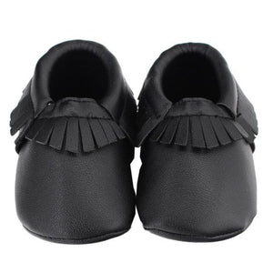 Tassels Baby Moccasin Newborn Baby Shoes Soft Bottom PU Leather Prewalkers 0-18M - ourkids-shop