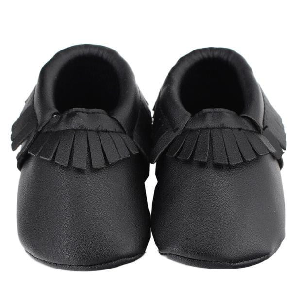 Tassels Baby Moccasin Newborn Baby Shoes Soft Bottom PU Leather Prewalkers 0-18M - OurKids.Shop