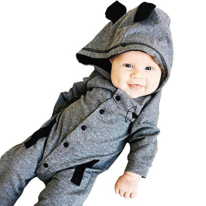 2018 New Newborn Clothes Fox Baby Boy Girl Romper Long Sleeve one piece suit baby clothing jumpsuit Infant Product - OurKids.Shop