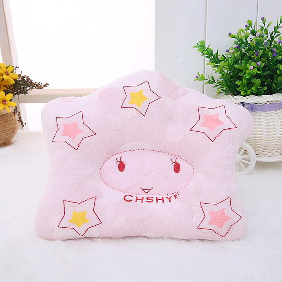 2018 New baby pillow infant shape toddler sleep positioner anti roll cushion flat head pillow protection of newborn almohadas - OurKids.Shop
