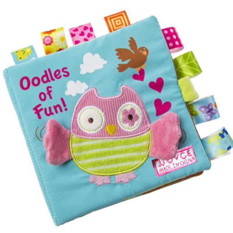 Child Puzzle Animal Book owl Animal Monkey Puzzle Soft Cloth Books Toy for Babies Educational Development Toys for Children - ourkids-shop