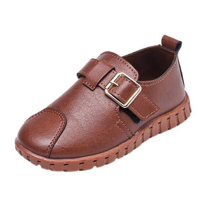 Toddler Kids Soft Sole PU Leather Shoes Girls Boys Baby Buckle Crib Soft Sole Sneakers Single 2018 Casual Fashion Shoes 2-6T - OurKids.Shop