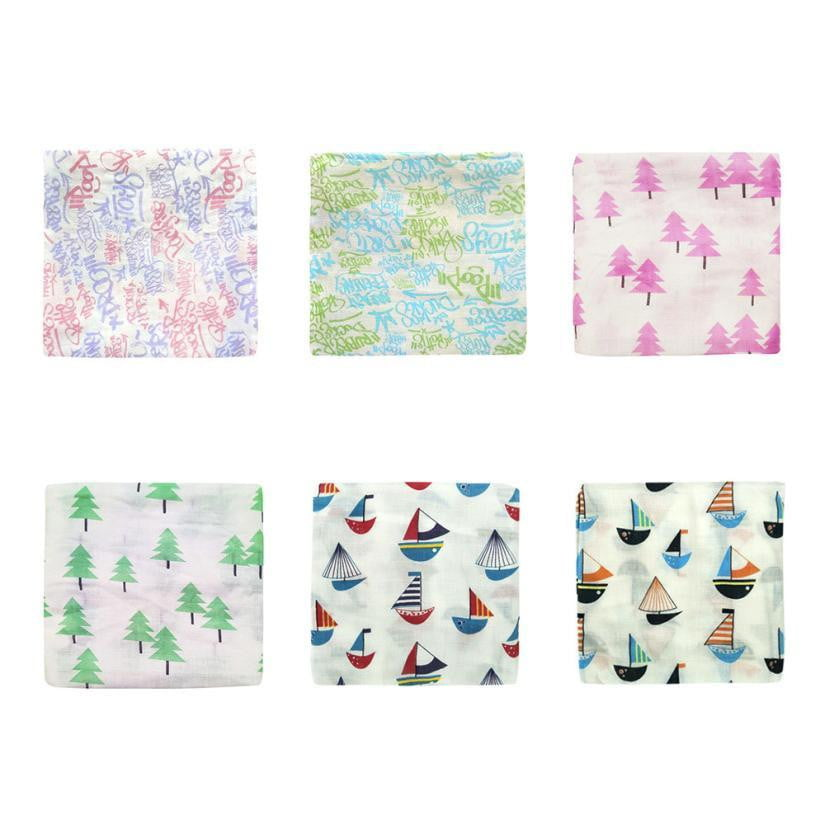 Baby Blanket Muslin Swaddle Wrap Bath Towel Cotton Baby Blankets Newborn Infant Muslin Blankets Kids Swaddle Soft Sleeping - OurKids.Shop