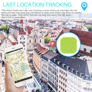 FORNORM Smart Tag Wireless Bluetooth Tracker Child Bag Wallet pet Key Finder GPS Locator 3 Colors Anti-lost alarm Reminder