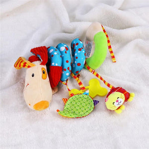 Puppy Dog Baby Infant Crib Toy Wrap Around Crib Rail Toy Stroller Toy Cute Baby Educational Plush Toys - ourkids-shop