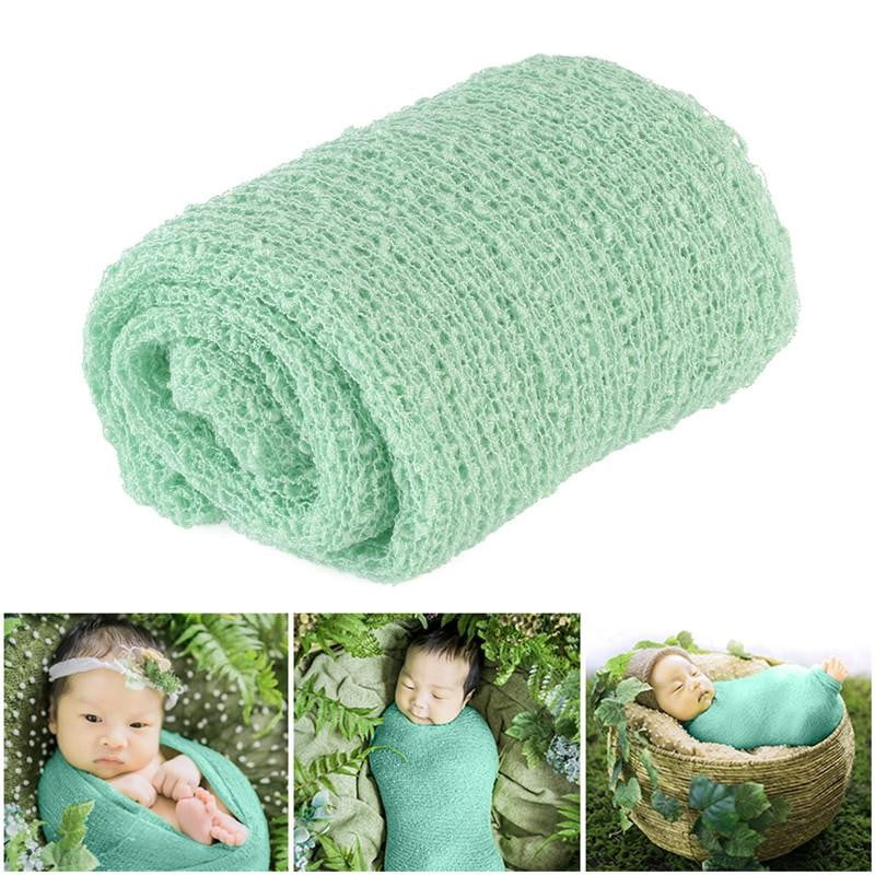 TINKSKY Newborn Baby Photography Photo Prop Stretch Wrap Baby Long Ripple Wrap - OurKids.Shop