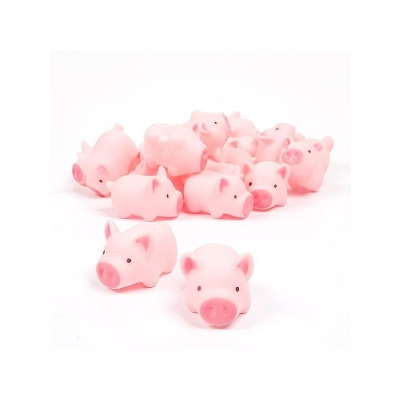 10pcs Rubber Pig Baby Bath Toy for Kid Baby Children - ourkids-shop