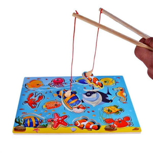 Wooden Magnetic Bath Fishing Toys for Kid Children Baby Toddler Boys Girls - OurKids.Shop
