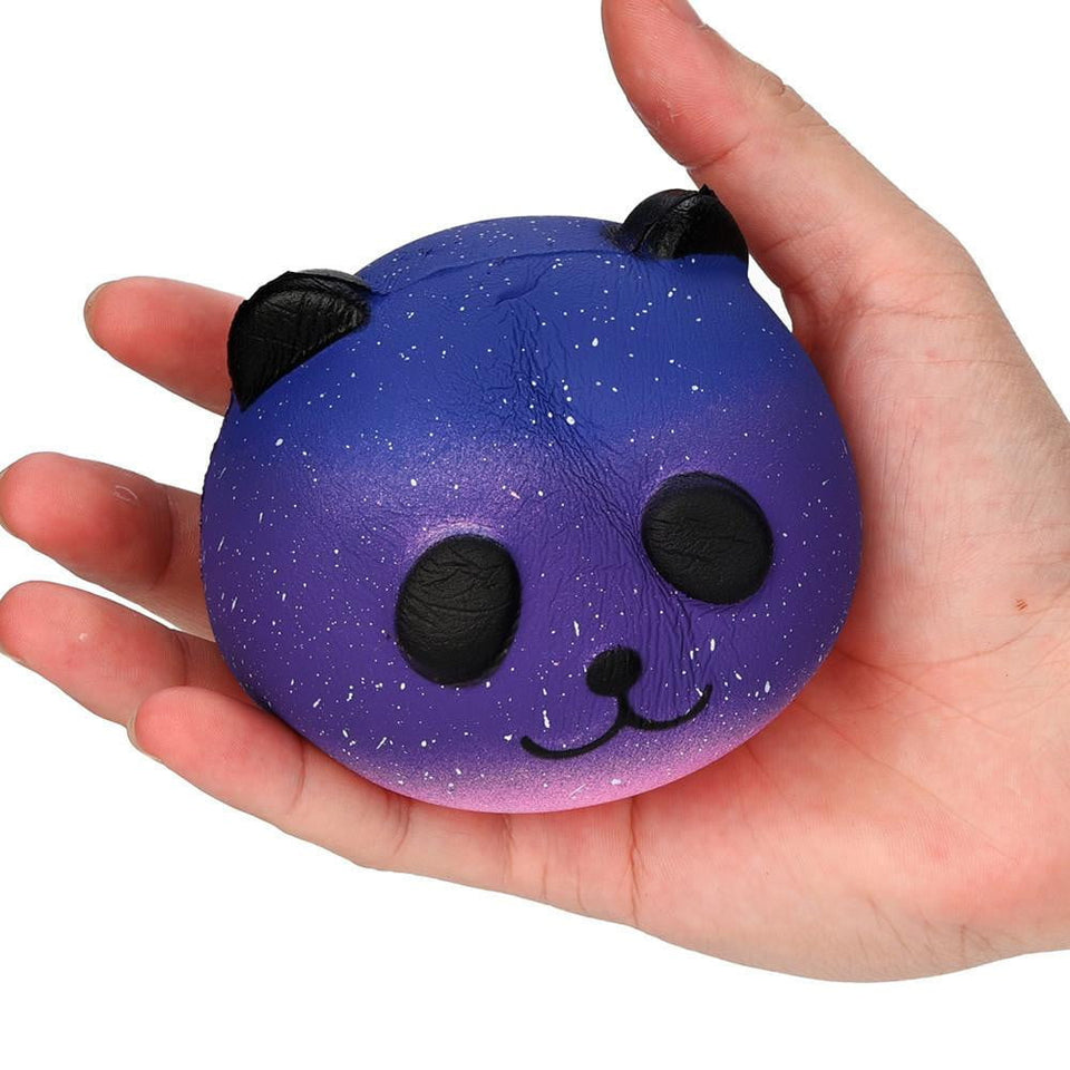 Galaxy Cute 10cm Panda Baby Cream Scented Squishy Slow Rising Squeeze Kids Toy