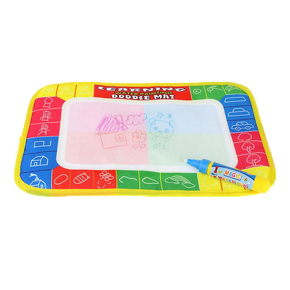 New Water Drawing Painting Writing Mat Board Magic Pen Doodle Gift 29 x 19cm - ourkids-shop