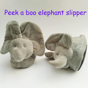 New Peek A Boo Elephant Slipper Toy, Plush Toy & Stuffed Animals Elephant Toy Home Slipper The Best Gift For Your Beloved Person - OurKids.Shop